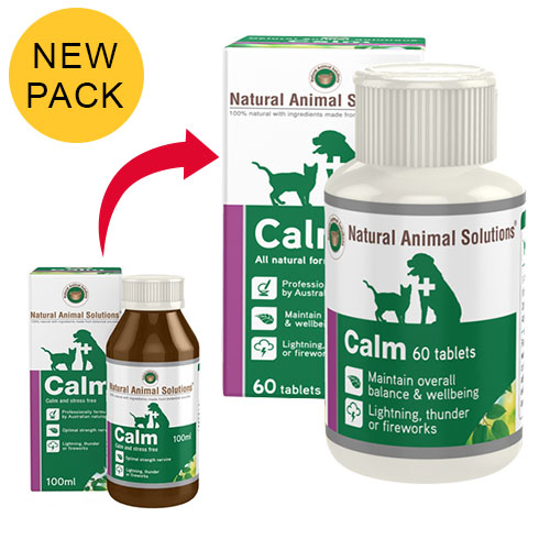 Natural Animal Solutions Calm Tablets for Dogs