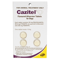 Cazitel for Dogs