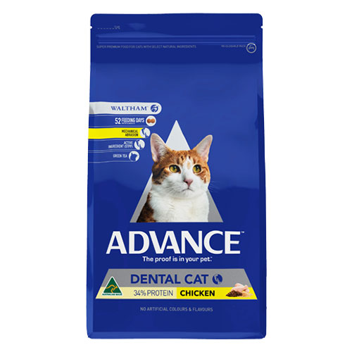 Advance Adult Cat Dental All Breed With Chicken Dry for Food