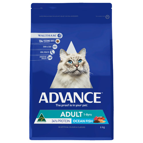 Advance Adult Cat Total Wellbeing with Fish Dry for Food