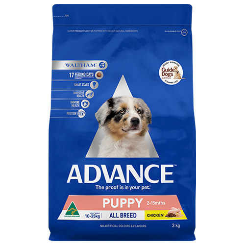 Advance Puppy Plus Growth All Breed with Chicken Dry for Food