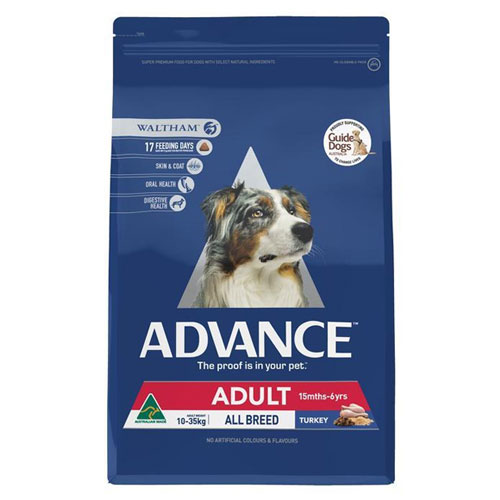 Advance Adult Dog Total Wellbeing All Breed with Turkey & Rice Dry for Food