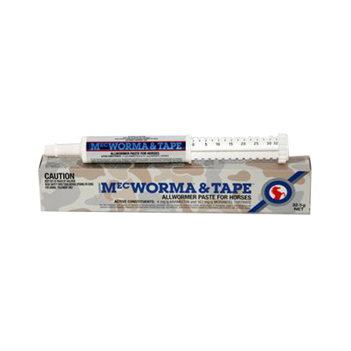 Mec Worma + Tape Allwormer Paste for Horse