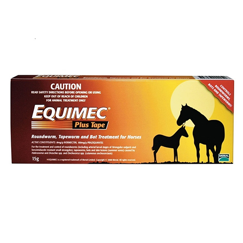 Equimec Plus Horse Wormer Paste for Horse