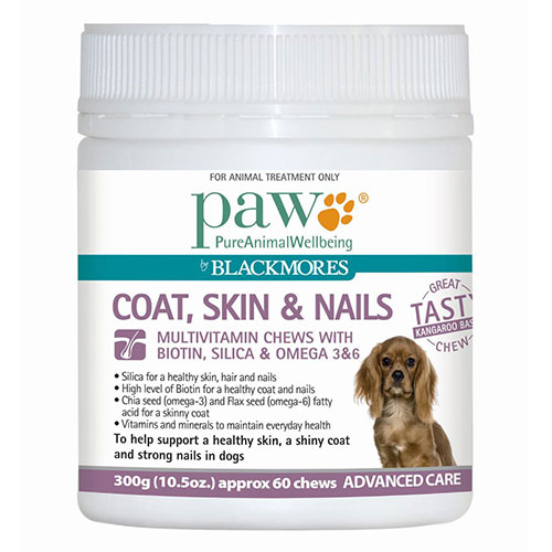 PAW Coat, Skin & Nails Multivitamin Chews for Dogs