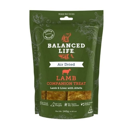 Balanced Life Dog Treats Lamb for Food
