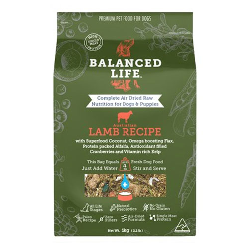 Balanced Life Dry Dog Food Lamb for Food