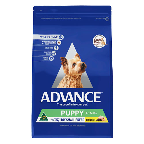 Advance Puppy Toy/Small Breed with Chicken Dry for Food