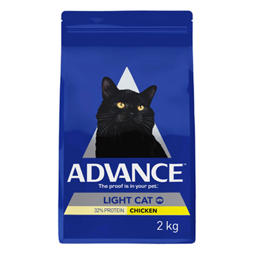 Advance Adult Cat Light with Chicken Dry for Food
