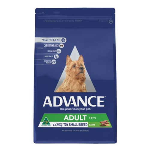 Advance Adult Total Wellbeing Small Breed with Lamb & Rice Dry for Food