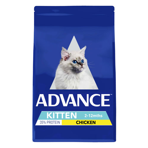 Advance Kitten Plus Growth with Chicken Dry for Food