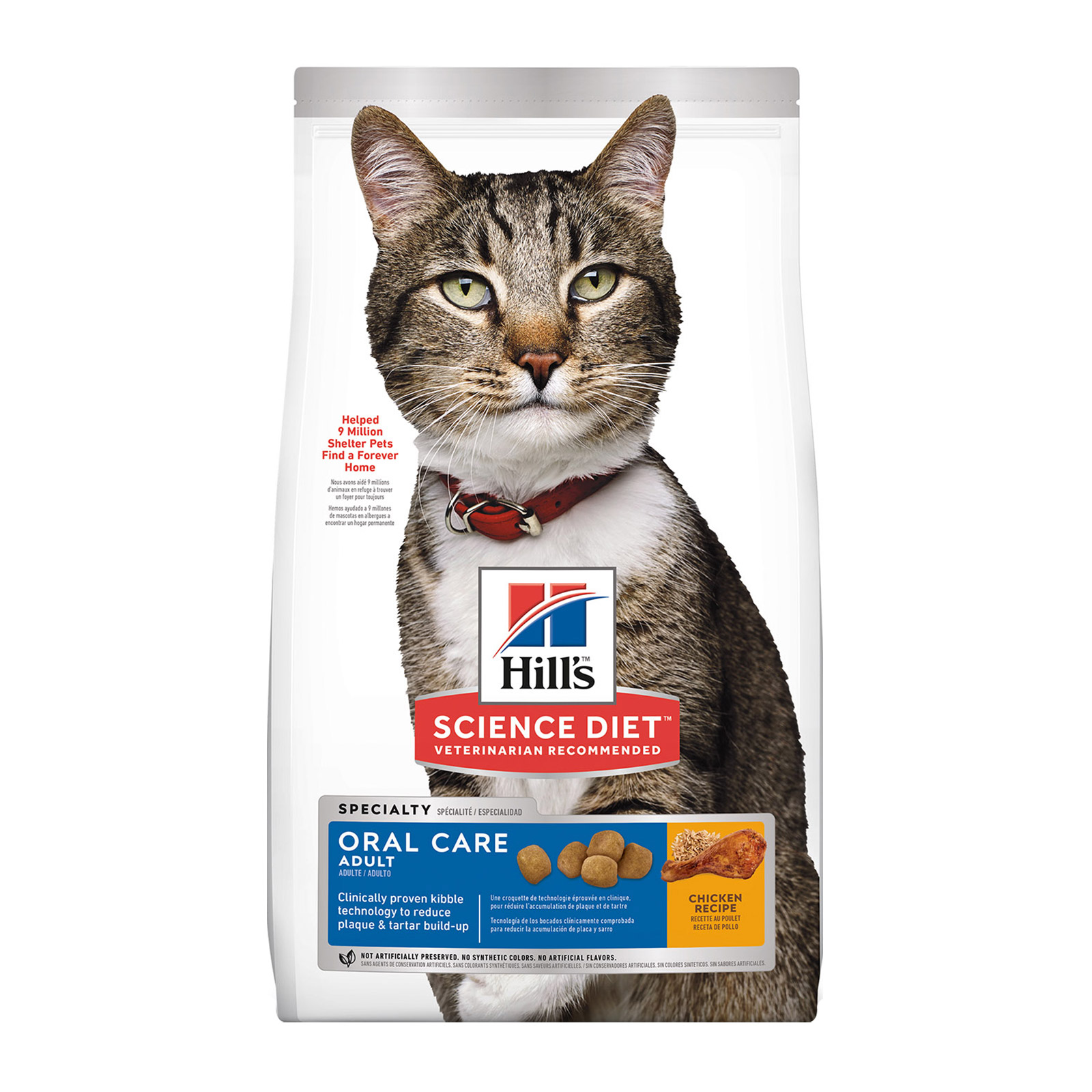Hill's Science Diet Adult Oral Care Feline Dry