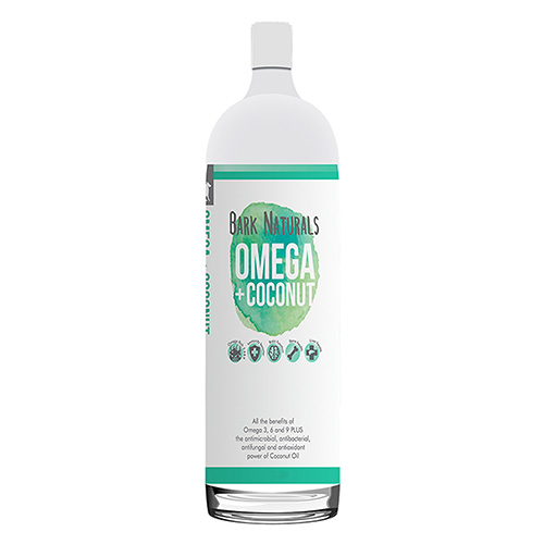 Bark Naturals Omega & Coconut Oil Supplement for Dogs