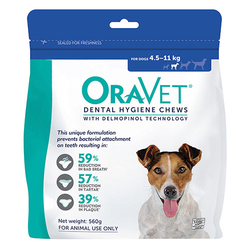 Oravet Dental Chews for Small Dogs (3 Pieces) Blue