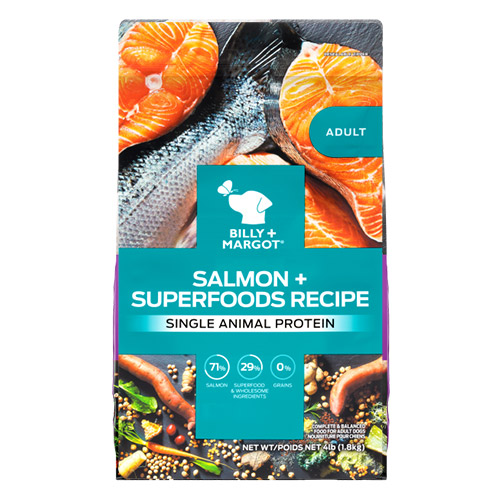 Billy & Margot Dog Adult Salmon and Superfoods for Food