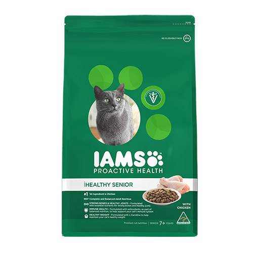 Iams Cat Mature and Senior Chicken for Food
