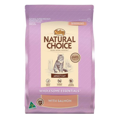Nutro Natural Choice Adult Cat Wholesome Essentials Salmon Formula for Food