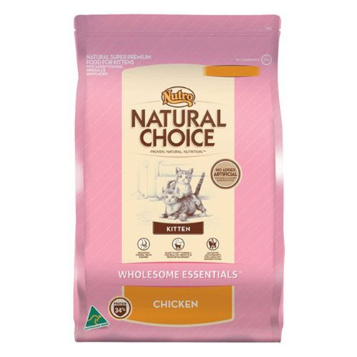 Nutro Natural Choice Kitten Wholesome Essentials Chicken formula  for Food