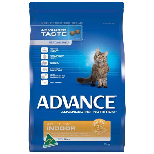 Advance Adult Cat Indoor With Tuna Dry for Food