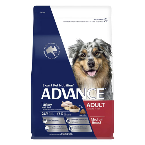 ADVANCE Adult Medium Breed - Turkey with Rice