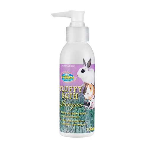 Fluffy Bath Shampoo for Small Animals for Small Animals