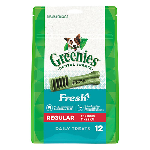GREENIES FRESH REGULAR 11-22 Kgs