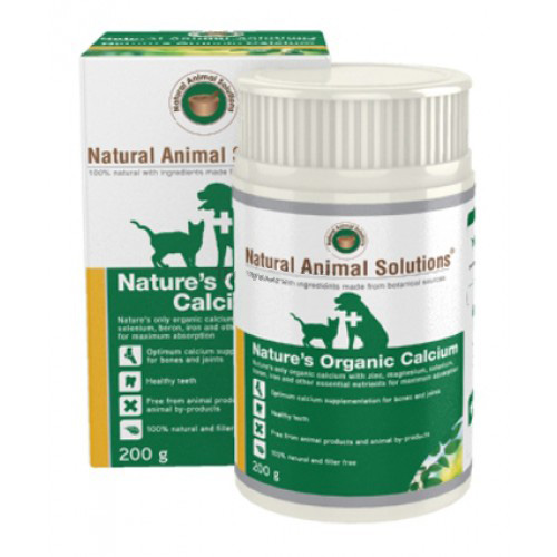 Natural Animal Solutions - Nature's Organic Calcium for Dogs