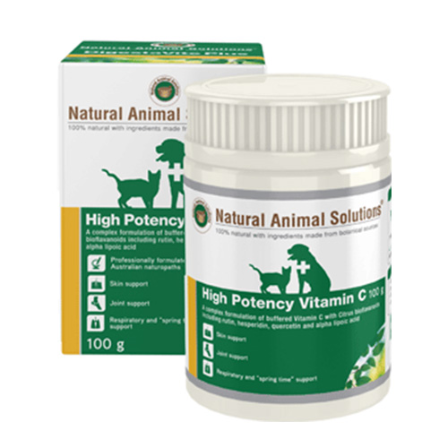 Natural Animal Solutions High Potency Vitamin C  for Dogs