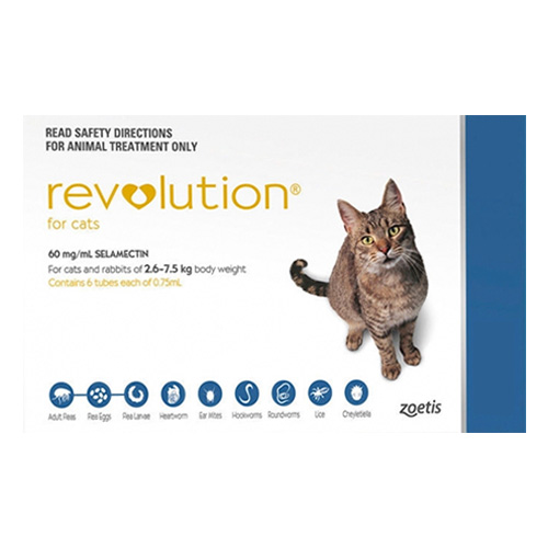 Revolution for Cats For Cats (Blue)
