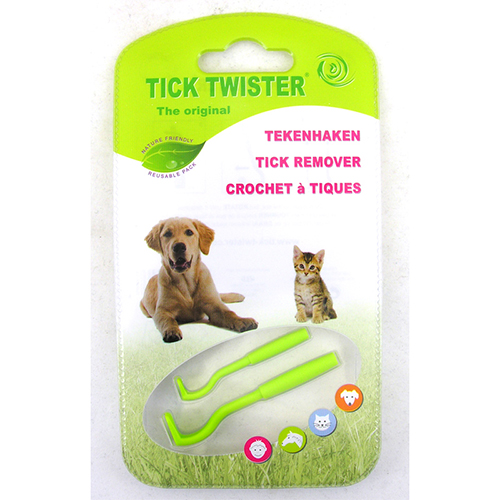 Tick Twister Twin Pack Large and Small Hook for Dogs