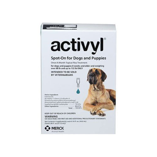 Activyl For Xlarge Dogs 40-60Kg (Green)