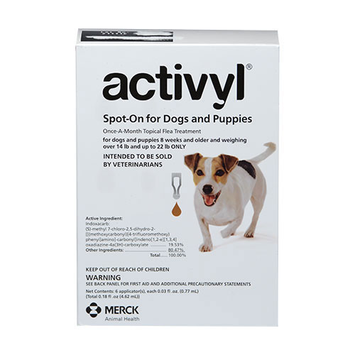 Activyl For Small Dogs 6.6-10Kg (Brown)