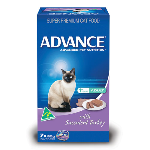 Advance Adult Cat with Succulent Turkey Cans for Food