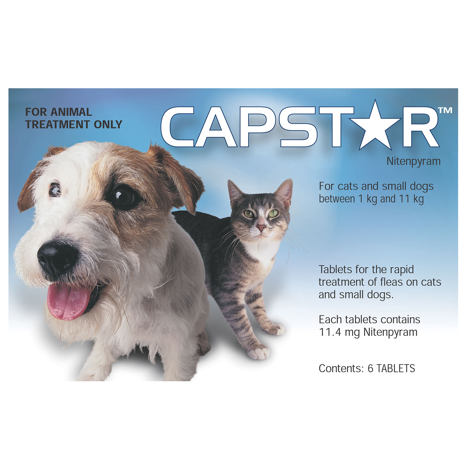 Capstar Flea Control Tablets for Cats for Cats