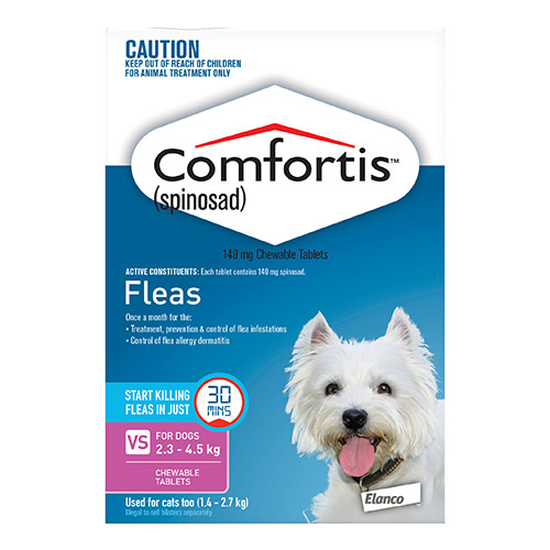 Comfortis Chewable Tablets for Dogs