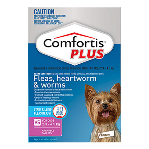 Comfortis Plus Chewable Tablets for Dogs