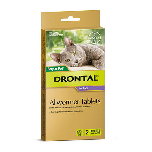Drontal Wormers - Cats for Cats