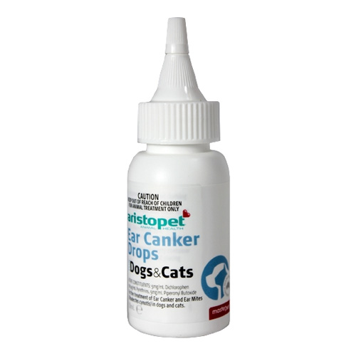 Aristopet Ear Canker Drops For Dogs And Cats for Dogs