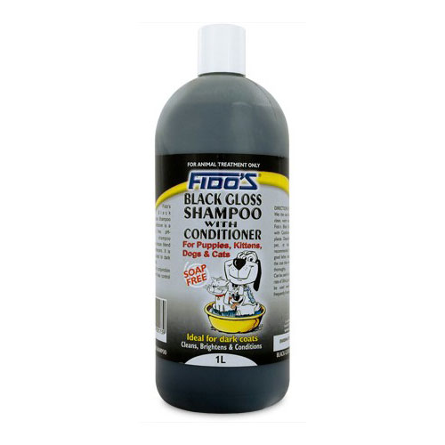 Fidos Black Gloss for Dogs