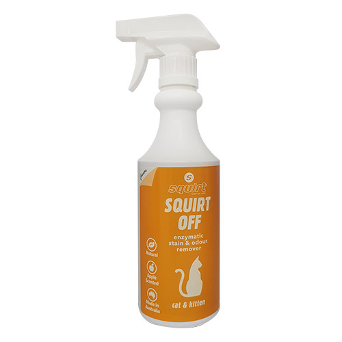 SQUIRT OFF CAT for Cats