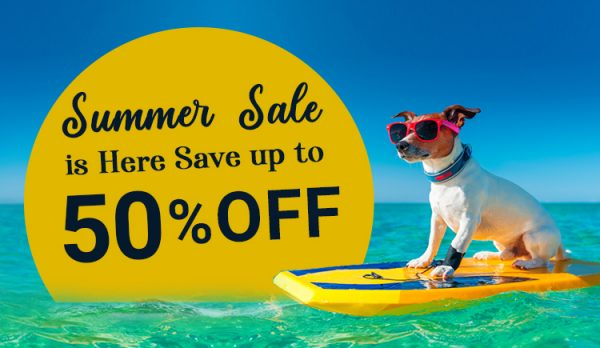 Summer Sale on Pet Supplies