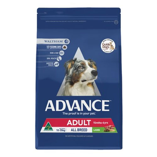 Advance Adult Dog Total Wellbeing All Breed with Lamb Dry