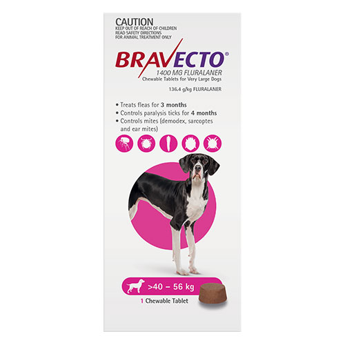 For Extra Large Dogs 40-56Kg (Pink)
