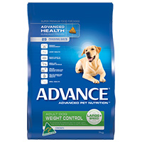 Advance Adult Dog Weight Control Large Breed with Chicken Dry