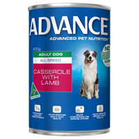 Advance Adult Dog All Breed Casserole with Lamb Cans