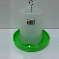 Avione Green & White Feeder for Birds