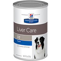 Hill's Prescription Diet l/d Liver Care Canine Cans