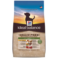Hill's Ideal Balance Grain Free Natural Chicken & Potato Recipe Adult Canine Dry