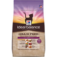 Hill's Ideal Balance Grain Free Natural Chicken/Potato Adult Feline Dry