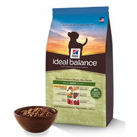 Hill's Ideal Balance Natural Chicken & Brown Rice Recipe Adult Canine Dry